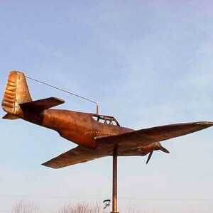 Airplane Weathervane – P51 Mustang
