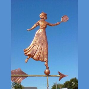 Tennis Player Weathervane*