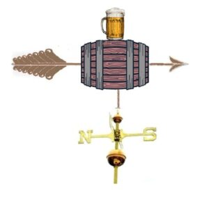 Keg Weathervane