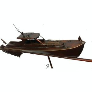 Power Boat Weathervane, Hinckley