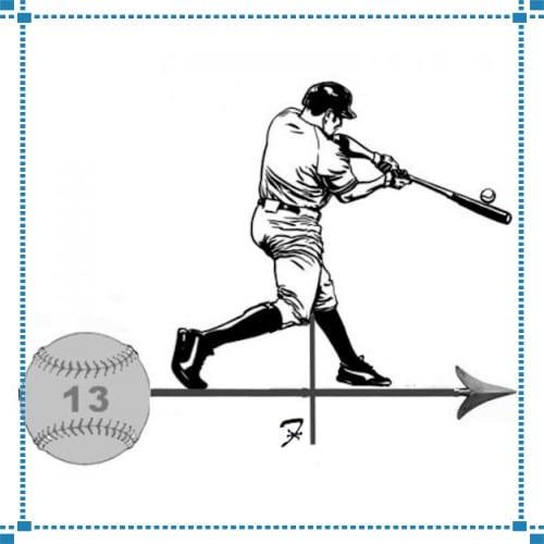 Baseball Batter Weathervane – Fuzek Residence