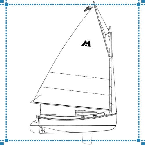 Menger Catboat & Finials – Parker Residence