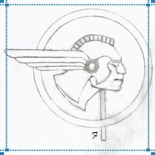 Pontiac Logo Weathervane – Butler Estate