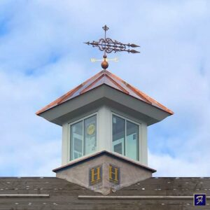Fleur-de-lis Royalle Arrow Weathervane