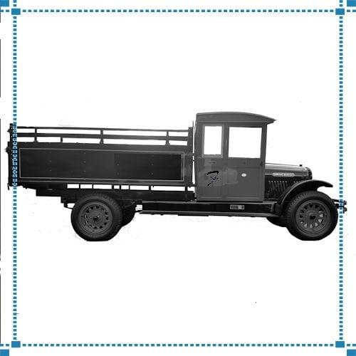 Brockway Truck Weathervane – Horn Collection