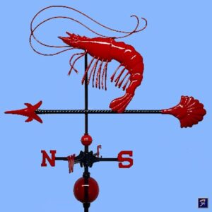 Shrimp Weathervane