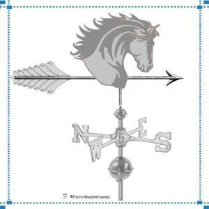 Horse Head & Arrow Weathervane*