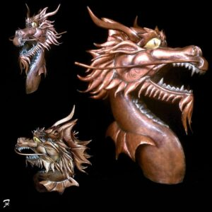 Dragon Head Weathervane
