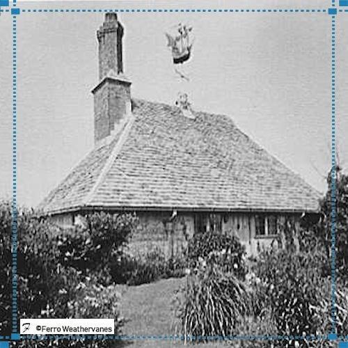Mayflower Weathervane Replica – Lewinstein Restoration