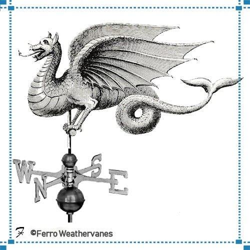 Wyvern Weathervane – Pickett Residence