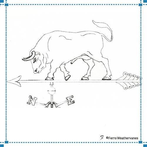 Bull Weathervane – Bull Residence