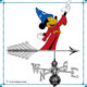 Fantasia Mickey Mouse Weathervane – C. Young