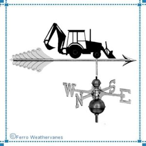 Heavy Equipment Weathervanes, Silhouette*