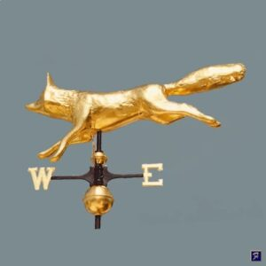 Fox Weathervane Full 3-D