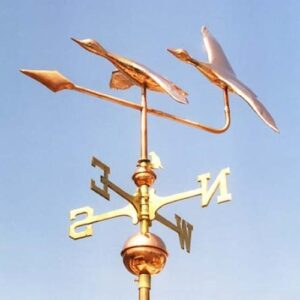 Duck Weathervane, Mallard Pair
