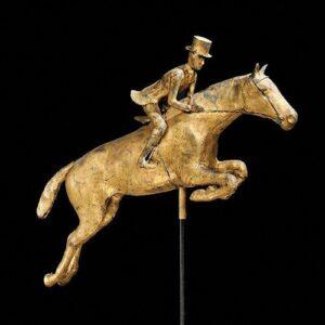 Jumping Horse Weathervane