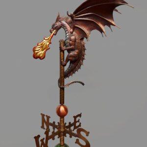 Dragon Weathervane*
