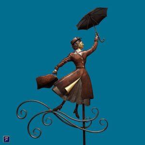 Mary Poppins Weathervane*